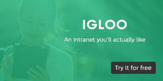 Igloo Software Ad