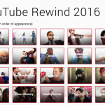 Lists of people appearing in Youtubes 2016 Rewind video