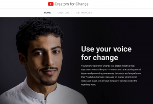 Omar Hussein YouTube Ambassador for Change