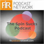 The Spin Sucks Podcast with Gini Dietrich (album art)